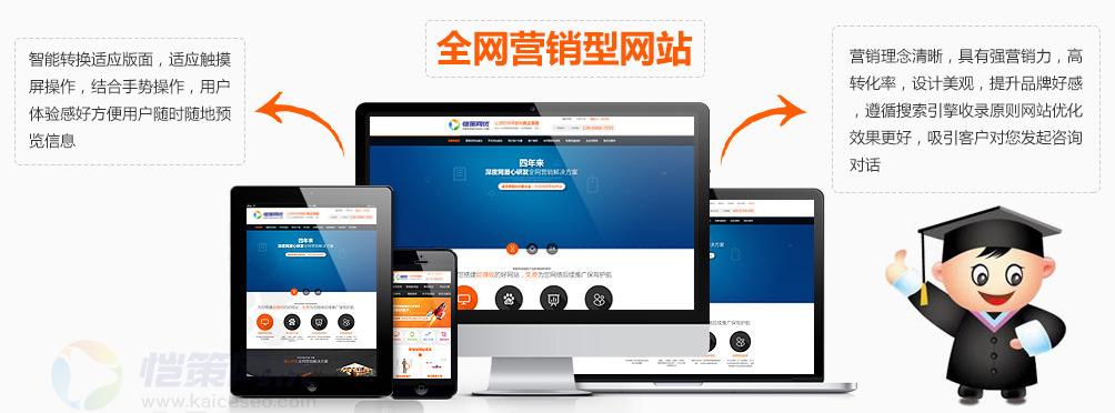 企业营销型网站制作是否应该选择自适应网站设计